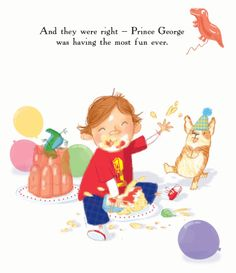 Cake - not just for eating. Happy Birthday Royal Baby ! by Martha Mumford and Ada Grey. Bloomsbury