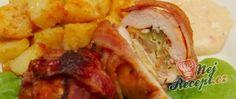 Recept Plněné kuřecí batůžky Tacos, Ethnic Recipes, Puding Cake, Souffle Dish, Food Items, Food Food, Meat