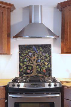 tree of life mosaic