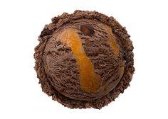 """""""ザッハトルテ チョコレートケーキの王様、ザッハトルテのアイスクリームに、アプリコットリボン、チョコケーキピースを入れた、リッチな味わい。 ※ザッハトルテ…オーストリアの伝統的なチョコレートケーキ"""" Dessert Illustration, Something Sweet, Bujo, Donuts, Nom Nom, Filters, Muffin, Coconut, Ice Cream"""