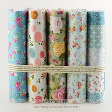 """40 cm x 50 cm """" bonito """" algodão fat quarter bundle quilting patchwork tilda pano para crianças de cama têxtil(China (Mainland))"""