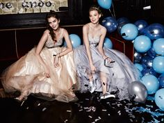 Be the belle in a David's Prom ball gown with oh-so-sparkly accents or a sweetheart neckline.