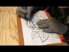 DREMEL WOOD CARVING PROJECT HEADBOARD PART 1 - YouTube