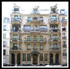 Les Arums (1904) 33 rue du Champ de Mars Paris 75007 Architecte: Octave Raquin