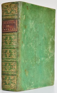 French green vellum with gilt panelled spine. Eighteenth century.