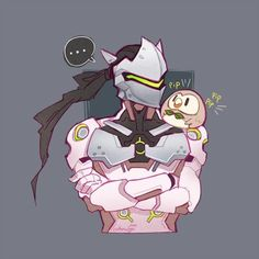 #Pokemon Sun Moon #Overwatch dessin de cottonwings #JeuVidéo
