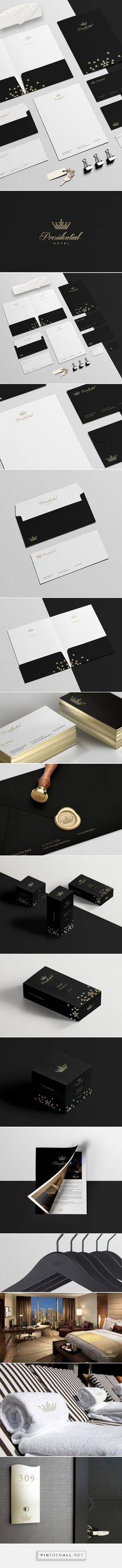Presidential Hotel on Behance | Fivestar Branding – Design and Branding Agency & Inspiration Gallery