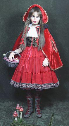Sylvia Weser at Alisa's640 x 1173199.8KBwww.alisasinternationaldoll...  Red riding hood