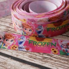 Stuha frozen růžová