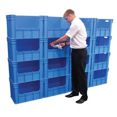 Home - Workplace Catalogue Free Standing Wall, Plastic Containers, Storage Solutions, Workplace, Locker Storage, Catalog, Walls, Garage, Industrial