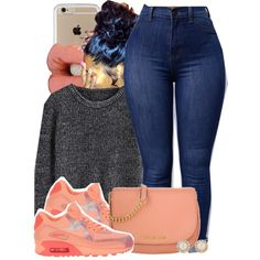 A fashion look from May 2016 featuring NIKE sneakers, MICHAEL Michael Kors shoulder bags und Kate Spade earrings. Browse and shop related looks.