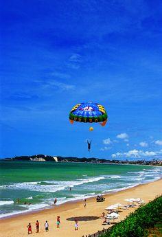 Pipa Beach - Natal, Rio Grande do Norte , Brasil (by Visit Brazil) Rio Grande Do Norte, Places Around The World, Around The Worlds, Places To Travel, Places To Visit, Visit Brazil, Brazil Travel, Beautiful Beaches, Wonders Of The World
