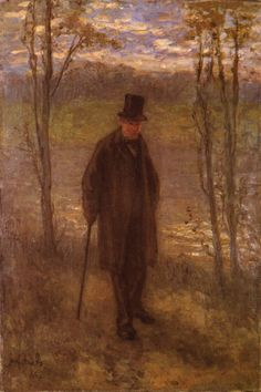 Jozef Israëls - We Grow Old (1878)