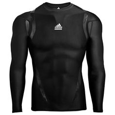 adidas Techfit Powerweb Long Sleeve Tee