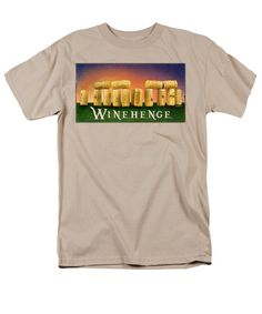 Purchase an adult t-shirt featuring the image of Winehenge by Will Bullas.  Available in sizes S - 4XL.  Each t-shirt is printed on-demand, ships within 1 - 2 business days, and comes with a 30-day money-back guarantee.
