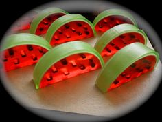 "Brand new ""Watermelon Soap slice""  smells just like the real thing! <3"