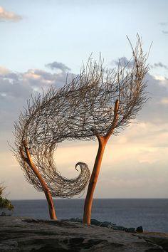"^ ""wind spiral II"" by bronwyn berman by Jamie Williams Photography, via Flickr"