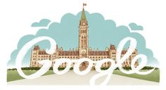 Google Doodle: Canada Day 2013