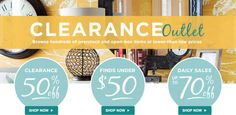 Save Up to 70% on Clearance Items at Wayfair  on home stuff  like furniture, lighting, cookware, and everything in between carry over 5,000 brands of products. By Using Wayfair Promo Code.