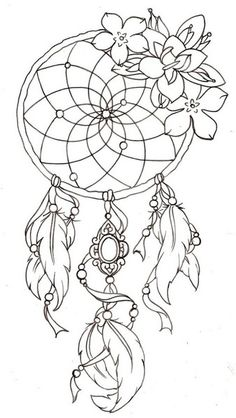 Dreamcatcher Tattoo Designs 1