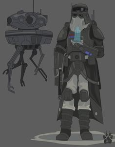 General Veers Combat Armor Concept by Wolfdog-ArtCorner on DeviantArt Star Wars Characters Pictures, Star Wars Pictures, Star Wars Images, Star Wars Droids, Star Wars Rpg, Star Wars Clone Wars, Star Wars Concept Art, Star Wars Fan Art, Star Citizen