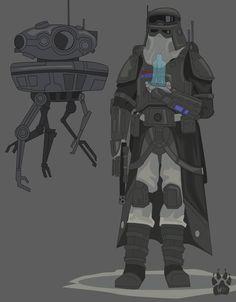 General Veers Combat Armor Concept by Wolfdog-ArtCorner on DeviantArt Images Star Wars, Star Wars Characters Pictures, Star Wars Pictures, Star Wars Jedi, Rpg Star Wars, Star Wars Fan Art, Star Wars Concept Art, Star Wars Clones, Star Citizen