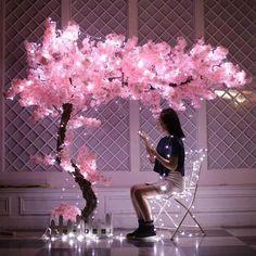 Silk Flowers, Dried Flowers, Paper Flowers Wedding, Pink Wedding Decorations, Decor Wedding, Quince Decorations, Wedding Wall, Party Wedding, Garden Wedding