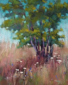 Painting my World: The Benefits of Brushing Out a Painting  16x20 pastel by Karen Margulis