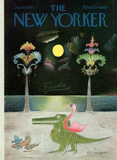 Saul Steinberg – The New Yorker, 1965