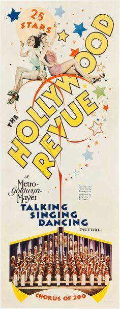 "5/24/14  8:42p   MGM  ""Hollywood Review"" Joan Crawford John Gilbert Buster Keaton   1929"