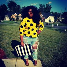 It's Time To Take Inspiration From How Blogger Amarachi Ukachu Rocks Mad Colours And Prints
