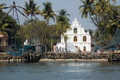 The Church of Our Lady of Hope, (Nossa Senhora Da Esperança), is a Roman Catholic Church located at the point where the Vembanad Lake merges with the Arabian Sea, with Fort Cochin on the other side.  The church, with an area of 10 Sq.km, at the southern end of Vypeen Island, is the northern most boundary of Diocese of Cochin and is one of the oldest churches in Cochin, built by the Portuguese in 1605 A.D. This imposing church was renovated in 2005 as part of its fourth centenary…