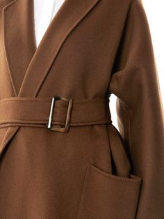Max Mara Saio Coat in Brown (camel) | Lyst