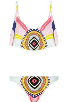 Mara Hoffman Rays printed bikini | NET-A-PORTER
