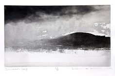 Crawford Art Gallery, housing both contemporary and tradional artworks at Emmet Place, Cork, Ireland. Norman Ackroyd, Watercolors, Watercolor Paintings, Sea Waves, Canvas Paper, Sky And Clouds, Etchings, Abstract Landscape, Printmaking
