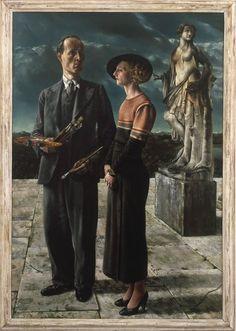 Carel Willink Self portrait with Wilma van der Meulen 1934