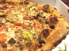 REVIEW: New Bacon Cheeseburger Pizza from Papa John's