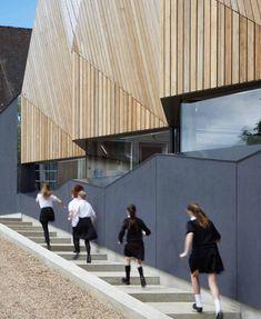 swimming pool - Alfriston School - Beaconsfield, South Bucks, UK - Duggan Morris