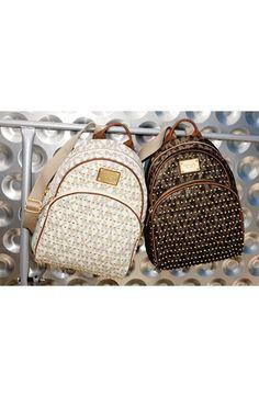 MICHAEL Michael Kors \u0026#39;Small\u0026#39; Studded Backpack | Nordstrom