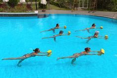 List of Water Aerobic Exercises