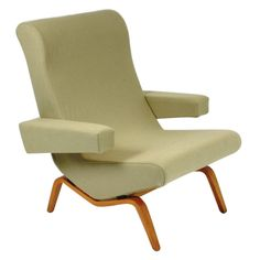 Pierre Paulin Armchair CM195HD | From a unique collection of antique and modern lounge chairs at http://www.1stdibs.com/furniture/seating/lounge-chairs/