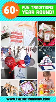 Fun family tradition ideas for each month and season of the year.