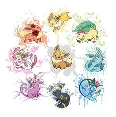 unpopular opinion: sylveon is beautiful but useless - Pokemon Ideen Pokemon Mew, Pokemon Eevee Evolutions, Pokemon Fusion, Pokemon Fan Art, Cute Drawings, Animal Drawings, Pokemon Tattoo, Pokemon Pictures, Cute Art