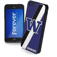 Forever Collectibles Washington Huskies iPhone 5 Case ($9.99) ❤ liked on Polyvore featuring accessories, tech accessories and team color