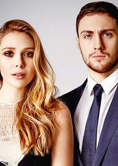 Elizabeth Olsen and Aaron Taylor Johnson