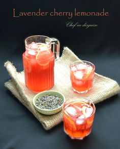 Lavender lemonade. I'm not so sure about this... but I'd try it!
