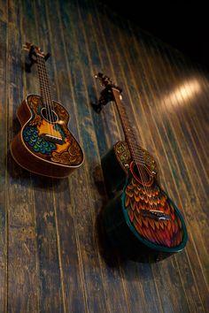 Guitar Artwork Exhibit, Lichty Guitars