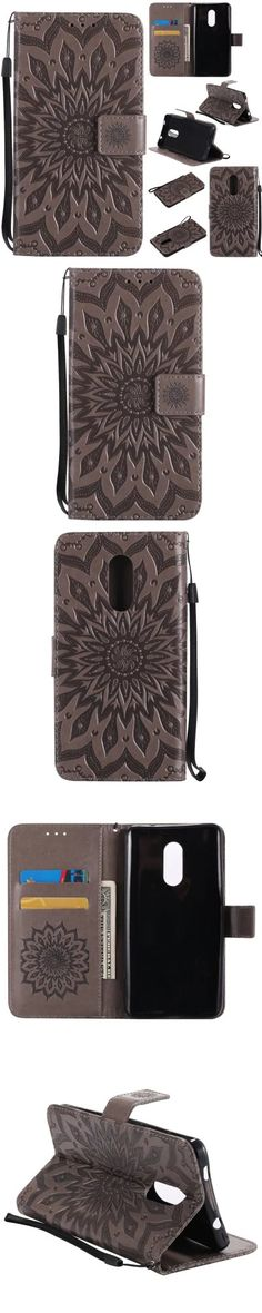 Yanxn Sun Flower Printing Design Pu Leather Flip Wallet Lanyard Protective Case for Xiaomi Redmi Note 4X -$5.08