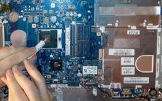 Come cambiare la pasta termica secca della CPU a un Notebook #notebook #hardware #cpu