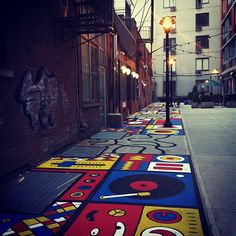 Funky Floor #redbull #streetart